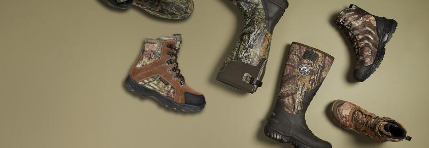 best hunting camo boots