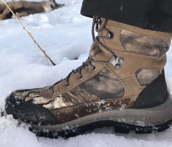 low top hunting boots