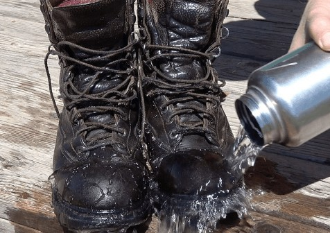 insulated waterproof side zip hunting boots