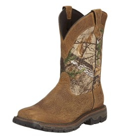 men's pull on hunting boots