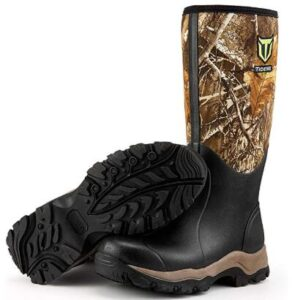 wide rubber boots