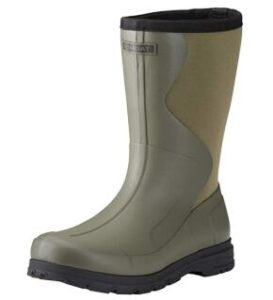 extra wide rubber hunting boots