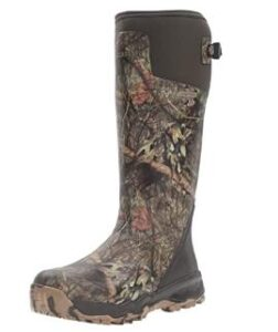 wide rubber hunting boots